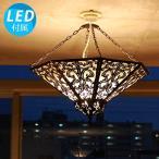 天井照明 ペンダントライト 吊下げ灯 シーリングライト アジアン 照明器具 LED対応 おしゃれ 間接照明 寝室 ダイニング 玄関 レトロモダン バリ/アラベスクP