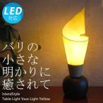 卓上ライト テーブルスタンドライト テーブルライト アジアン 照明器具 LED おしゃれ 間接照明 リビング 寝室 モダン バリ 北欧/ベースライト(イエロー)