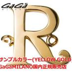 """国内正規品 売れ筋 GaGa MILANO/ガガミラノ Men's Ladies/メンズ レディース HBブレス/紐ブレスレット HB-INITIAL2-R イニシャル""""R"""""""
