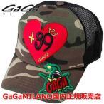 国内正規品 売れ筋 GaGa MILANO/ガガミラノ Men's Ladies/メンズ レディース 帽子 キャップ GA-0051CAP CAMOUFLAGE×GREEN カモフラージュ×グリーン