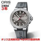 ORIS オリス アクイスデイト レリーフ 43.5mm AQUIS DATE メンズ 腕時計 自動巻 ダイバーズ 01 733 7730 4153-07 4 24 63EB