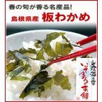 板わかめ20g前後 日本海 春の旬が香る名産品 無添加で食物繊維が胃腸に優しい板ワカメ