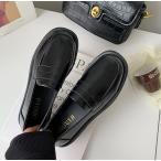 ■送料無料■学生用ローファー革靴■2カラー22.5〜24.5cm制服コスプレも通学■ブラック、ブラウン