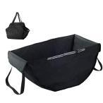 ハンモックバッグ 車用 簡単設置 買い物袋 ヘッドレストに引っ掛けるだけの後部座席バッグ 収納用品 車用収納  折りたたみ 大型