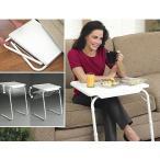折りたたみテーブル サイドテーブル 軽い 安い 小さい 高さ調整 角度調節 パソコン ベッド デスク 収納 昇降 ホワイト 作業台 介護用品 ミニテーブル