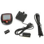 ■送料200円■日本語取説付 ■自転車サイクルメーター 速度 走行距離 走行時間計測■サイクルコンピューター■サイクルメーター■