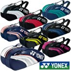 《10%OFFクーポン対象》《送料無料》《新色》2020年1月下旬発売 YONEX ラケットバッグ6(リュック付)〈テニス6本用〉 BAG1932R ヨネックス バッグ