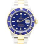 ロレックス 青サブマリーナ 16613 M番 メンズ 腕時計