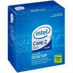コンピュータ  CPU Intel Core 2 Core 2 Duo E8200 Processor 正規輸入品