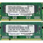 コンピュータ メモリー 1GB Seifelden 1GB (2X512MB) Memory RAM for Toshiba Satellite 2410-A640 2410-A741 2410-CTX 2410-S185 2410-S203 2410-S204