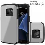 スマートフォン アクセサリー ケース ケース  Galaxy S7 Case, Celljoy [Liquid Armor] {Gray} Samsung G930 2016 Release Model Slim Fit Dual Layer
