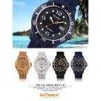 腕時計 メンズ レディース INTIMES インタイムス NAUTIC 48mm XLサイズ シリコンバンド ダイバー シチズン製ムーブ