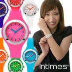 腕時計 レディース キッズ INTIMES インタイムス シリコン おしゃれ かわいい 軽量 防水 IT093