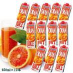 タロッコジュース(ブラッドオレンジジュース)1L冷凍×12本ケース - ORANFRIZER SUCCO DI ARANCE ROSSE