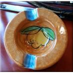 VIETRI陶器 レモン柄 ミニ灰皿