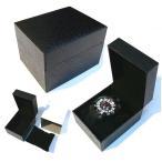 時計BOX 時計箱 腕時計専用BOX 箱 ウォッチケース時計ケース 腕時計箱 ギフトボックス (ブラック)