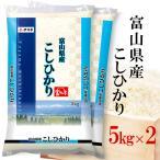 コシヒカリ 富山県産 こしひかり お米 10kg(5kg×2袋) 送料無料 白米 令和2年産 富山コシヒカリ お中元 熨斗承ります