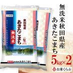 新米 送料無料 白米 令和元年産 無洗米 秋田県産 あきたこまち 10kg(5kg×2袋) 熨斗承ります