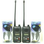 Yahoo!アイタックスインカム 同時通話可能47ch特定小電力トランシーバー(インカム)FC-B47と耳の中に差し込まない耳掛けタイプパッド&マイクのお得なインカム2台セット
