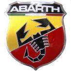 アバルト純正500アバルト用フロントエンブレム
