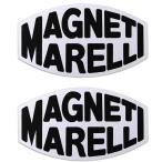 MAGNETI MARELLIロゴステッカー(2枚組/クリア枠ベース)