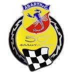 アバルト 595 50周年エンブレムステッカー