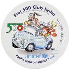 FIAT 500 CLUB ITALIA-unicefステッカー