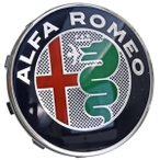 アルファロメオ ホイールセンターキャップ(Newエンブレム)※Alfa純正ホイール用サイズ(Alfa 159/Brera/Spider/Giulietta)