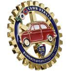 FIAT 500 CLUB ITALIAグリルエンブレム