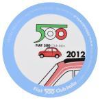 フィアット FIAT 500 CLUB ITALIA 2012ステッカー(裏貼りタイプ)