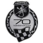 アバルト 70周年メモリアルエンブレムステッカー