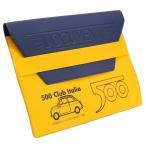 フィアット FIAT 500 CLUB ITALIAオフィシャルドキュメントケース(イエロー)