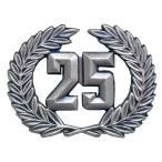 ランボルギーニ ロゴエンブレム(25th Anniversary)
