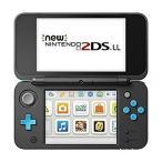 ◆送料無料・即日発送◆※3DS Newニンテンドー2DS LL 本体 ブラック×ターコイズ 新品17/07/13