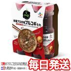 (2本セット CJ プルコギのたれ プルコギ韓国風 焼肉のタレ 840g×2個)プルコギヤンニョム 本格 プロの味 韓国料理 コストコ
