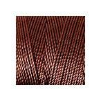ショッピングビーズ ミニパック C-LON ファインウエイトコード TEX135 ブラウン 10m巻