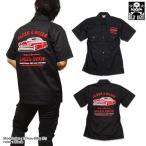 【 BILLY EIGHT 】 モーターサイクルバイカー刺繍シャツ