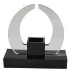 Yahoo!shopooo by GMOIEF-019 (Impromptu 1スタイル) ブラックカラー スタイリッシュ花瓶スタンド NEWライフスタイル 熟練した職人の手作り