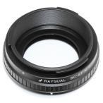 Rayqual 日本製レンズマウントアダプターニコンS/コンタックスC外爪レンズ/SC-EFM