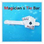 ショッピングMAGICIAN マジシャン用ネクタイピン/Magician's Tie Bar (4 Ace)