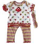 【未熟児】【低出生体重児】【早産児】【NICU】用 ベビー服: レディバグセット