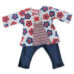 【未熟児】【低出生体重児】【早産児】【NICU】用 ベビー服:長袖上下セット デイジーメイ