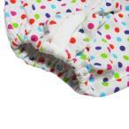 【未熟児】【低出生体重児】【早産児】【NICU】用 長袖ガウン 帽子付き(1360g以下)ドット