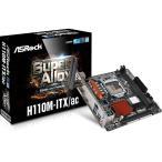 ASRock デュアルバンドWi-Fiモジュール装備Mini-ITXマザーボード (H110M-ITX/ac)
