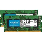 Crucial 8GB Kit (4GBx2) DDR3L 1600 MT/s (PC3L-12800) CL11 SODIMM 204pin 1.35V/1.5V |CT2KIT51264BF160B