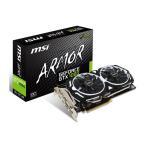 MSI GeForce GTX 1060 ARMOR 6G OCV1 オーバークロック仕様ARMOR 2X採用したビデオカード