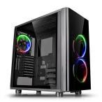 【外箱不良特価品】Thermaltake VIEW 31 TG RGB 強化ガラスパネル搭載ミドルタワー型PCケース|CA-1H8-00M1WN-01