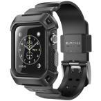 Apple Watch バンドケース SUPCASE アップルウォッチ (42mm) 衝撃吸収 2層構造 ( TPU × ポリカーボネート ) UBプロ ラギッド プロテクティブ ケース(バンド