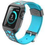 Apple Watch バンドケース i-BLASON アップルウォッチ (38mm)  2層構造 ハイブリッド ( TPU × ポリカーボネート ) Unity シリーズ ハイブリッド プロテクティ