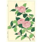 F055 おとめ椿 花版画 Flower Woodcut ‐Camellia‐